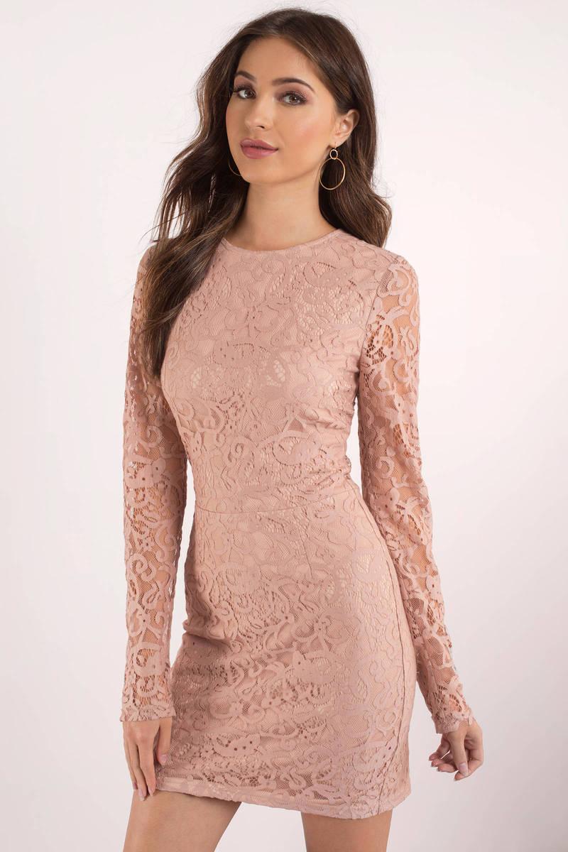 Rose Dress - Long Sleeve Dress - Royal Rose Dress - Bodycon Dress ...