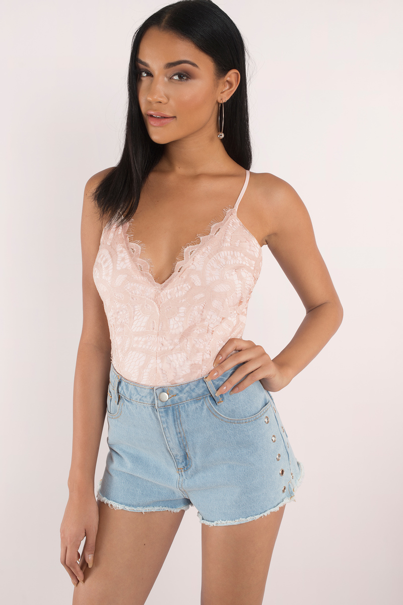 Ofelia Rose Lace Bodysuit