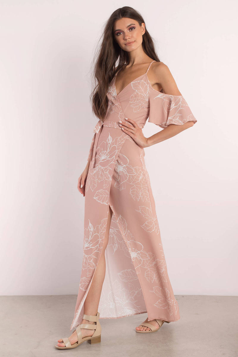 On The Meadow Rose Maxi Dress