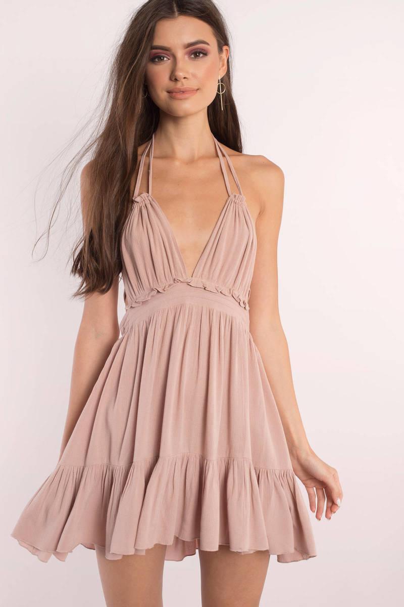 Rachel White Swing Dress