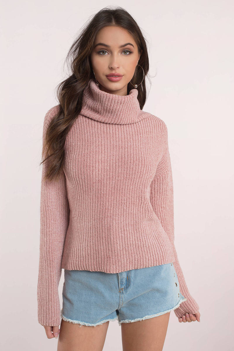 Rylee Rose Turtleneck Sweater - $31 | Tobi US