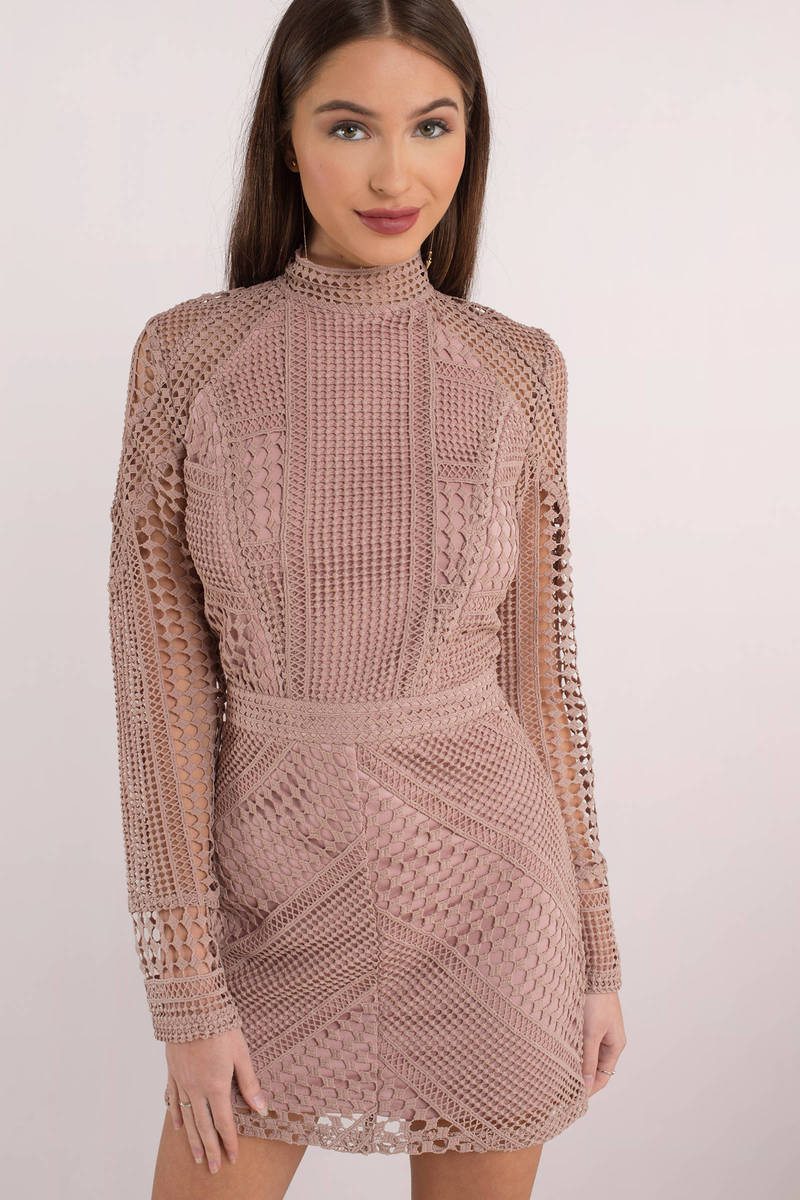 Zoey White Lace Bodycon Dress
