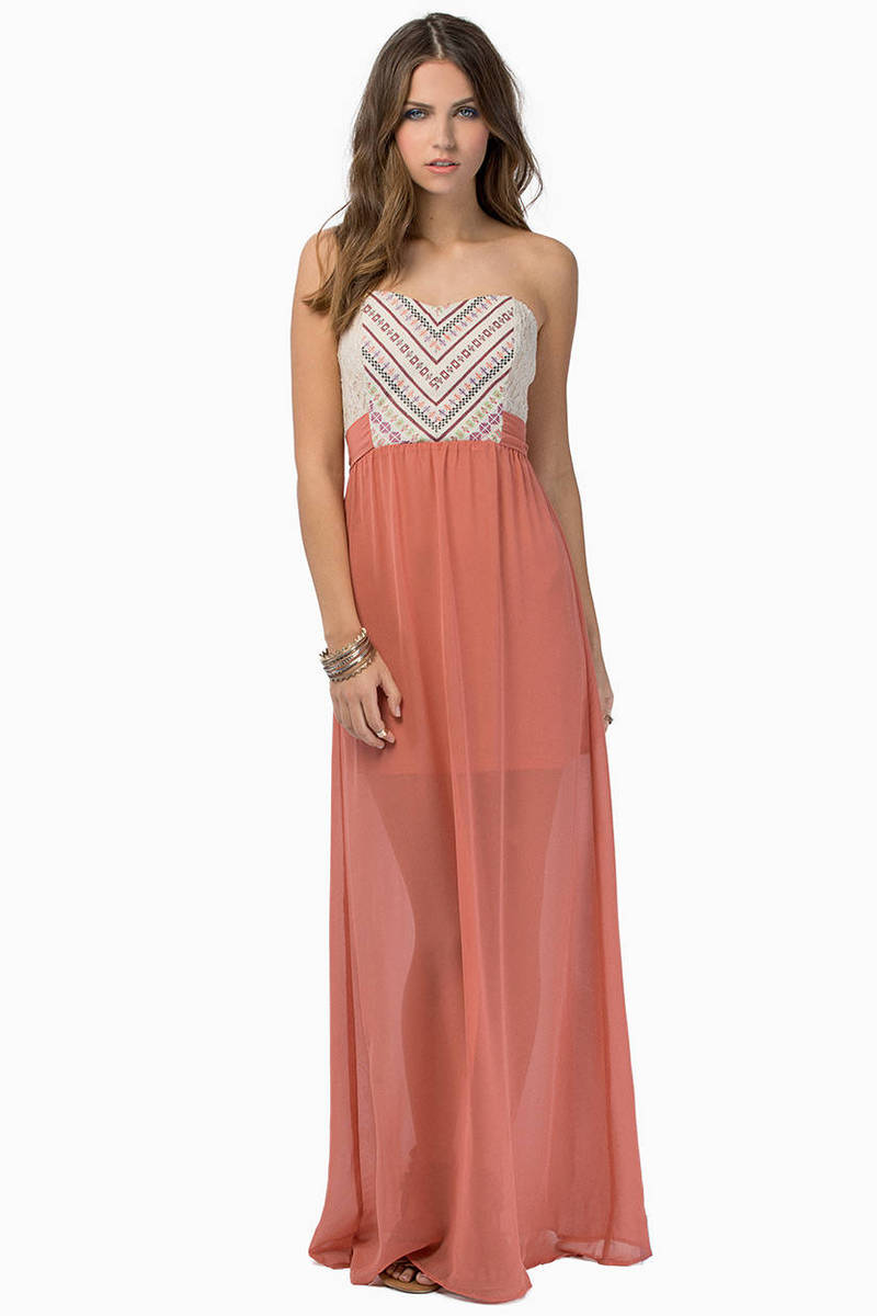 Open Heart Maxi Dress