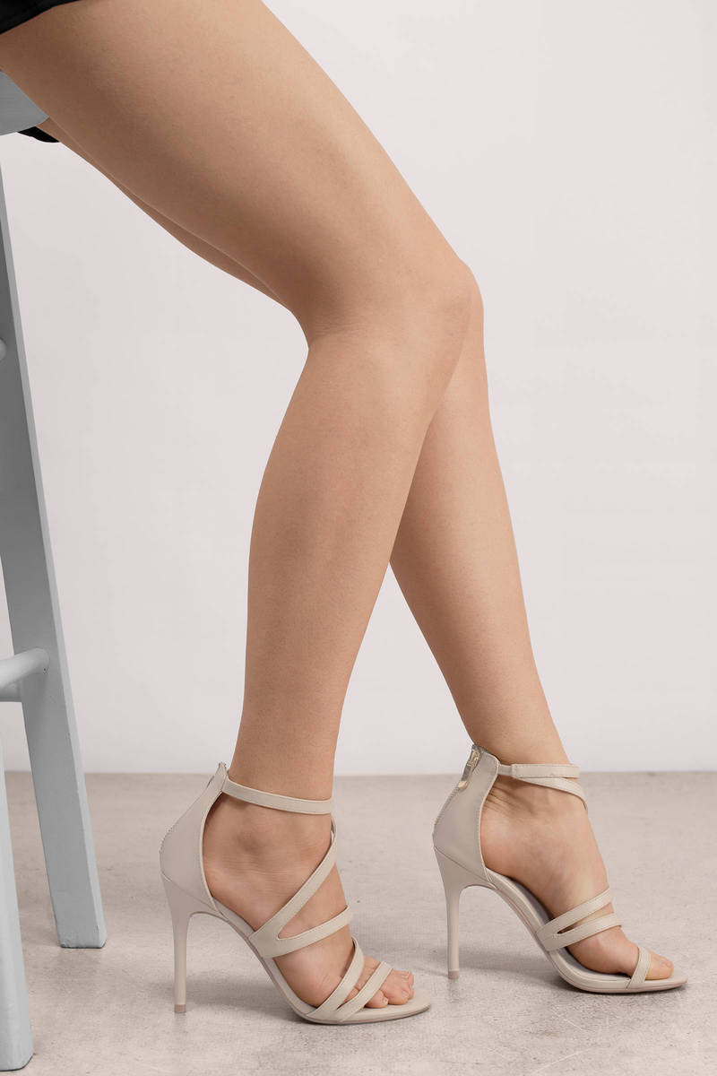Chinese Laundry Lalli Sand Leather Strappy Heel