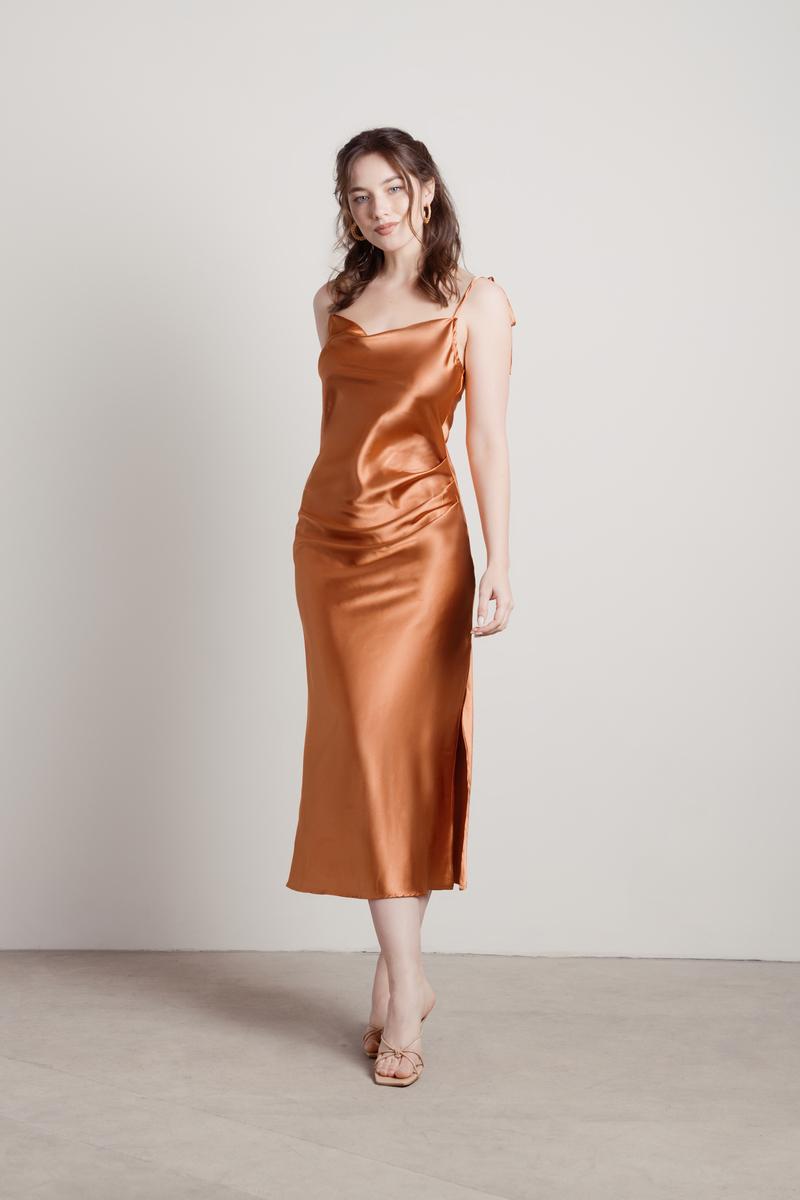 cowl neck dress