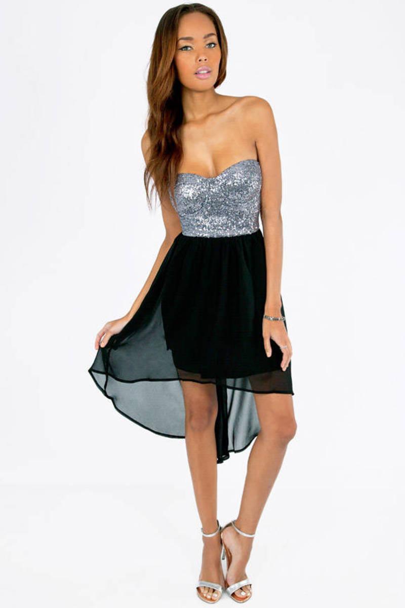 Light the Night Bustier Dress