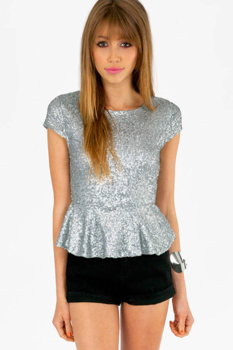 Diva Peplum Top