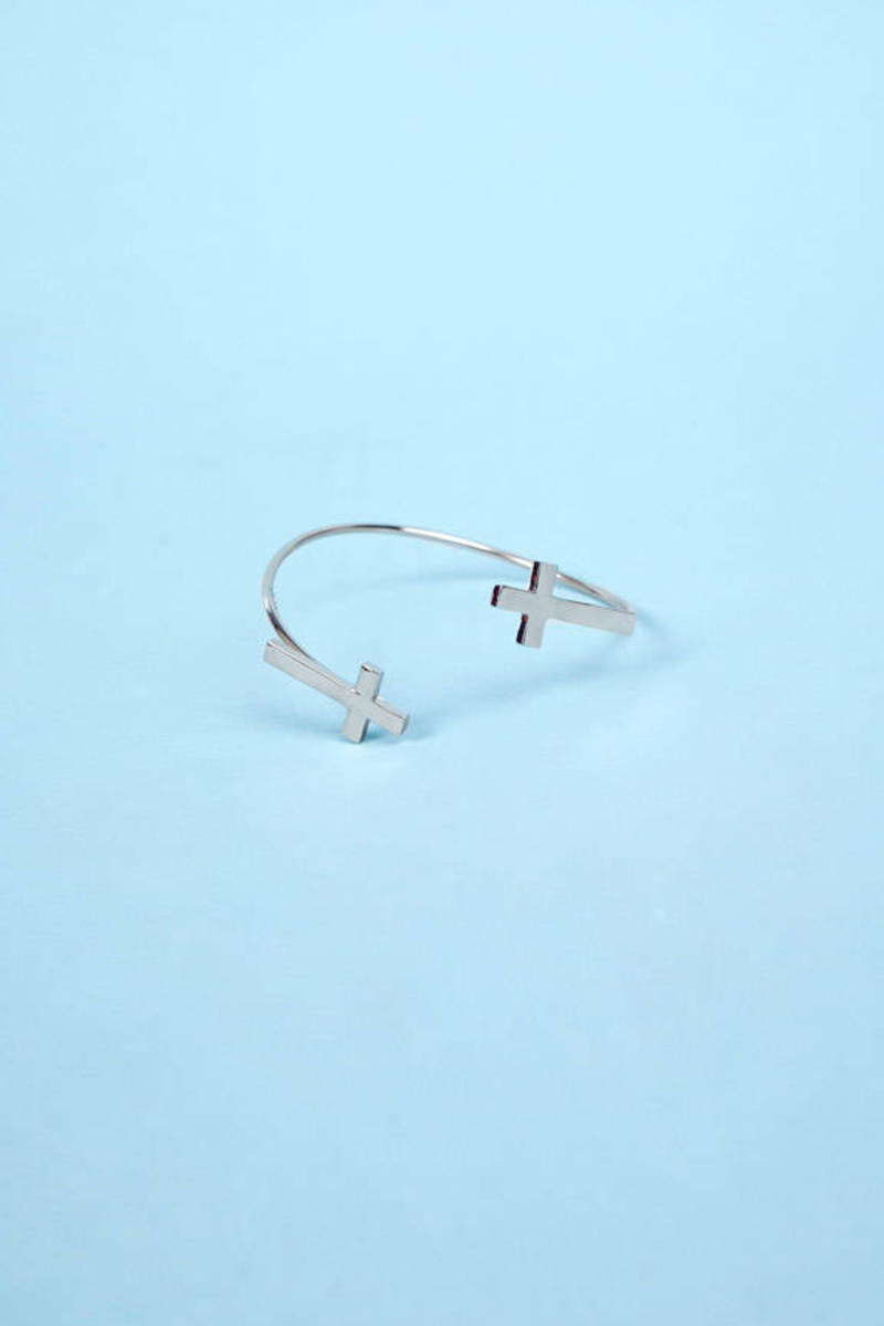 Double Crossed Bangle
