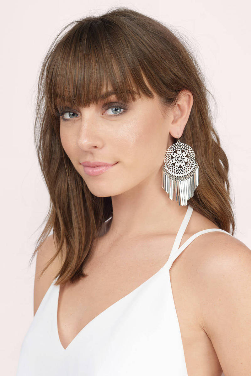 Dream Catcher Dangle Earrings
