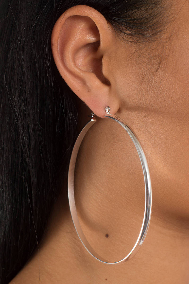 jewellery hoop shop wings with tilly sveaas silver earrings