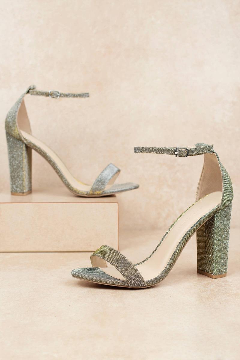 373ddf6dadfa Silver Heels - Sparkly Heels - Silver Party Heels - Cool High Heels ...