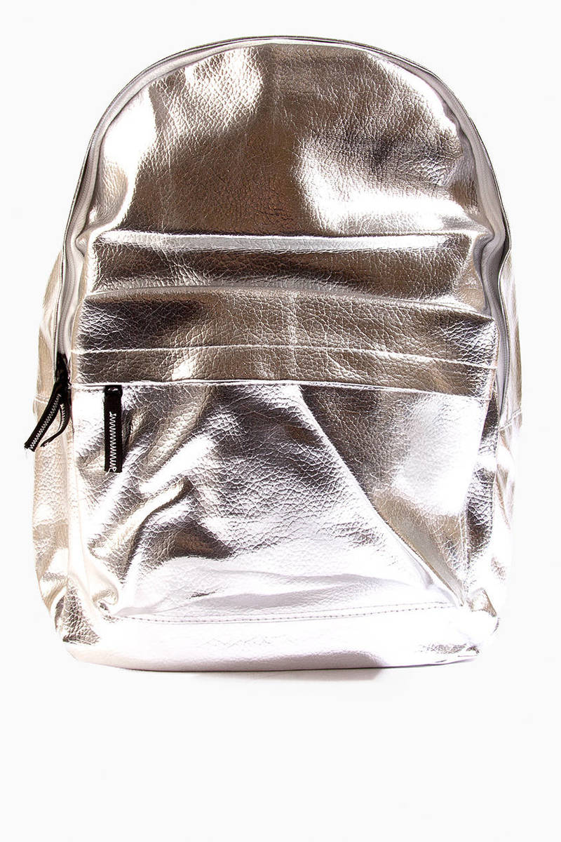 Accents Rock The Metallic Backpack
