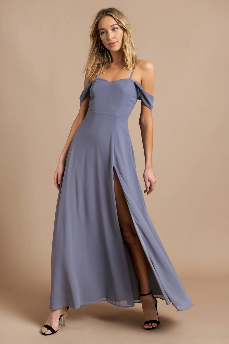 Sweetheart Halter Maxi Dress