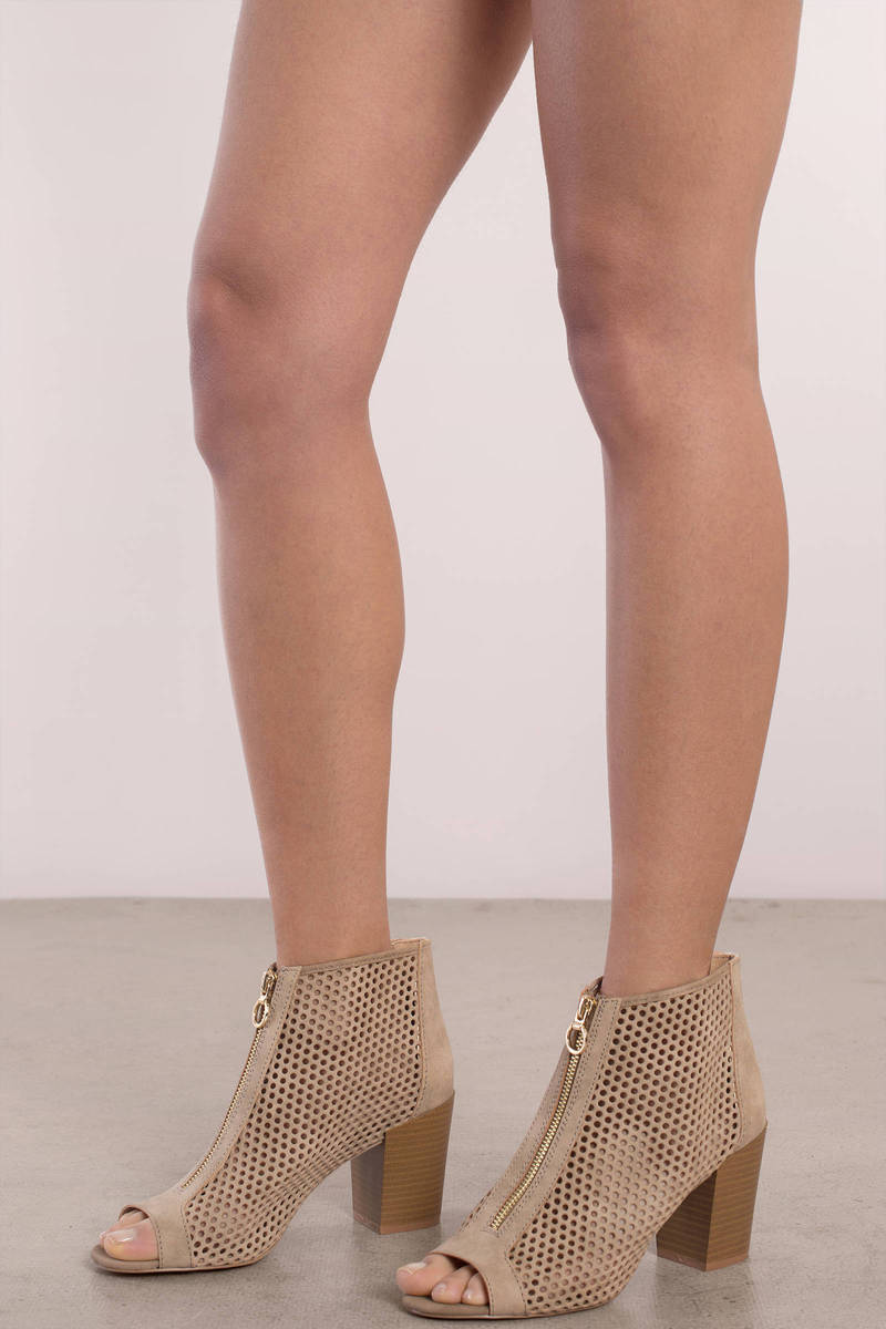 fashion design latest discount order online Naomi Open Toe Ankle Booties