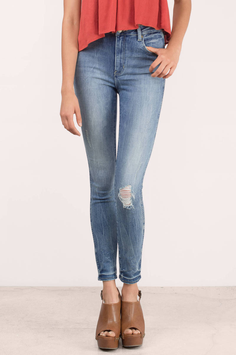 ROLLA'S Rolla's West Coast Super Worn Ankle Jeans