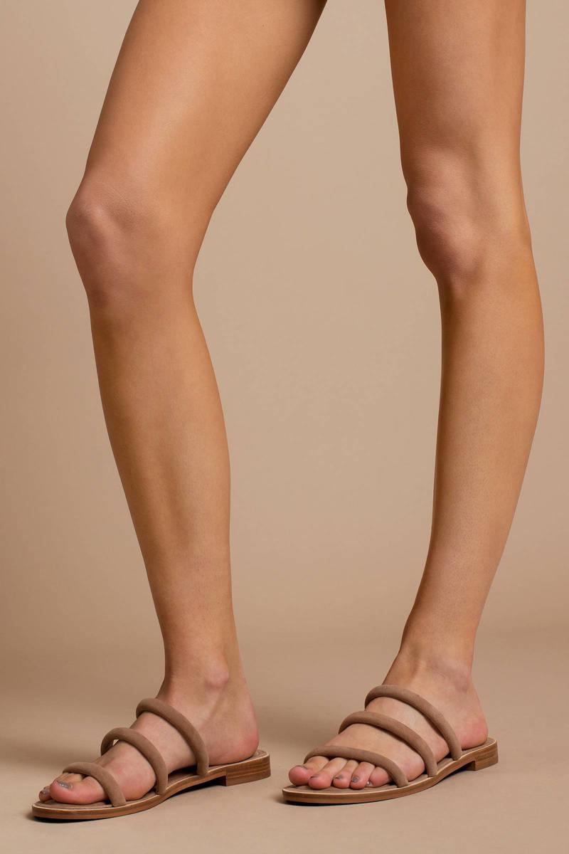 93904a6b9c0 Cocoa Multi Strap Slide Sandals