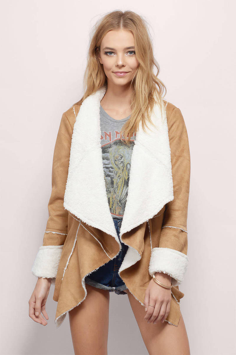 somedays lovin Hail Sunrise Sherpa Jacket