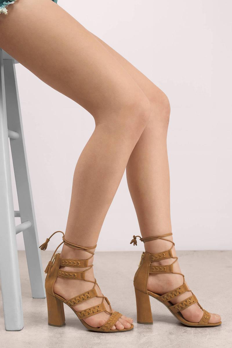 Report Footwear Myra Tan Heels
