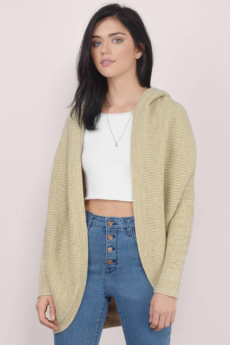 Cheap Taupe Cardigan - Oversized Cardigan - Taupe Cardigan - $20 ...