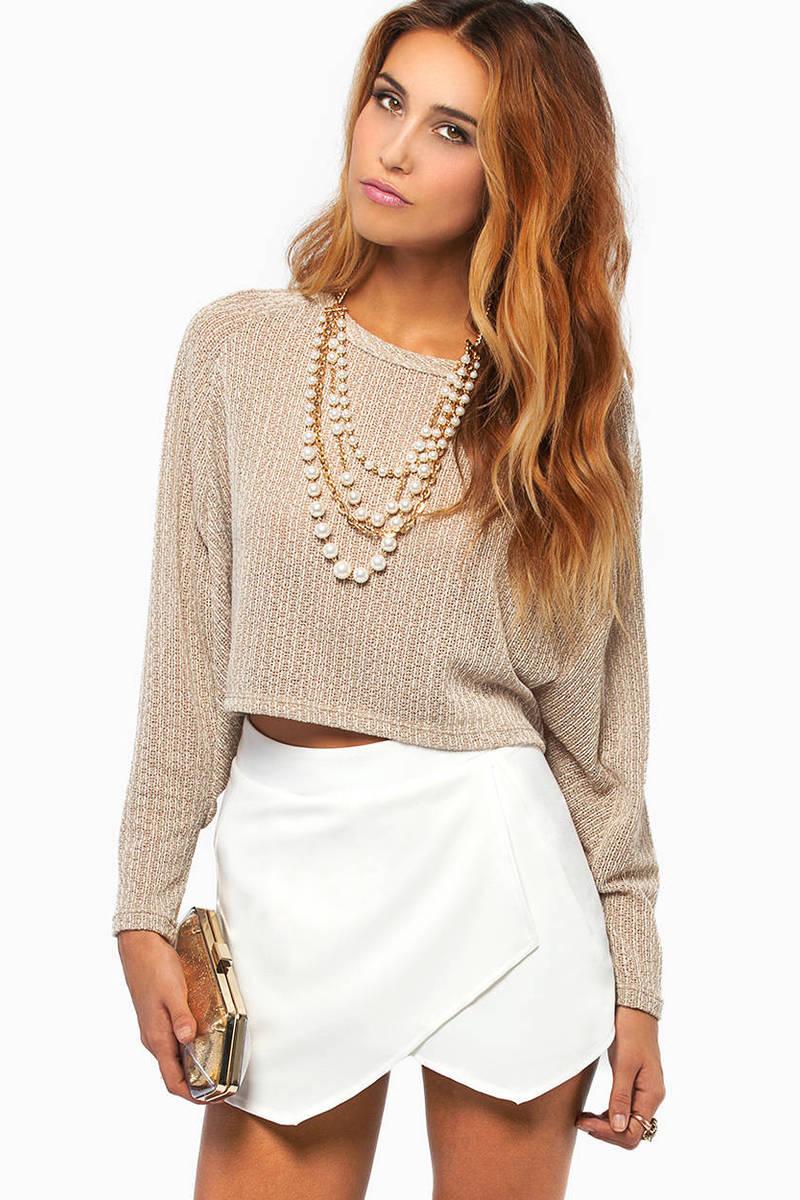 Illusion Knit Sweater