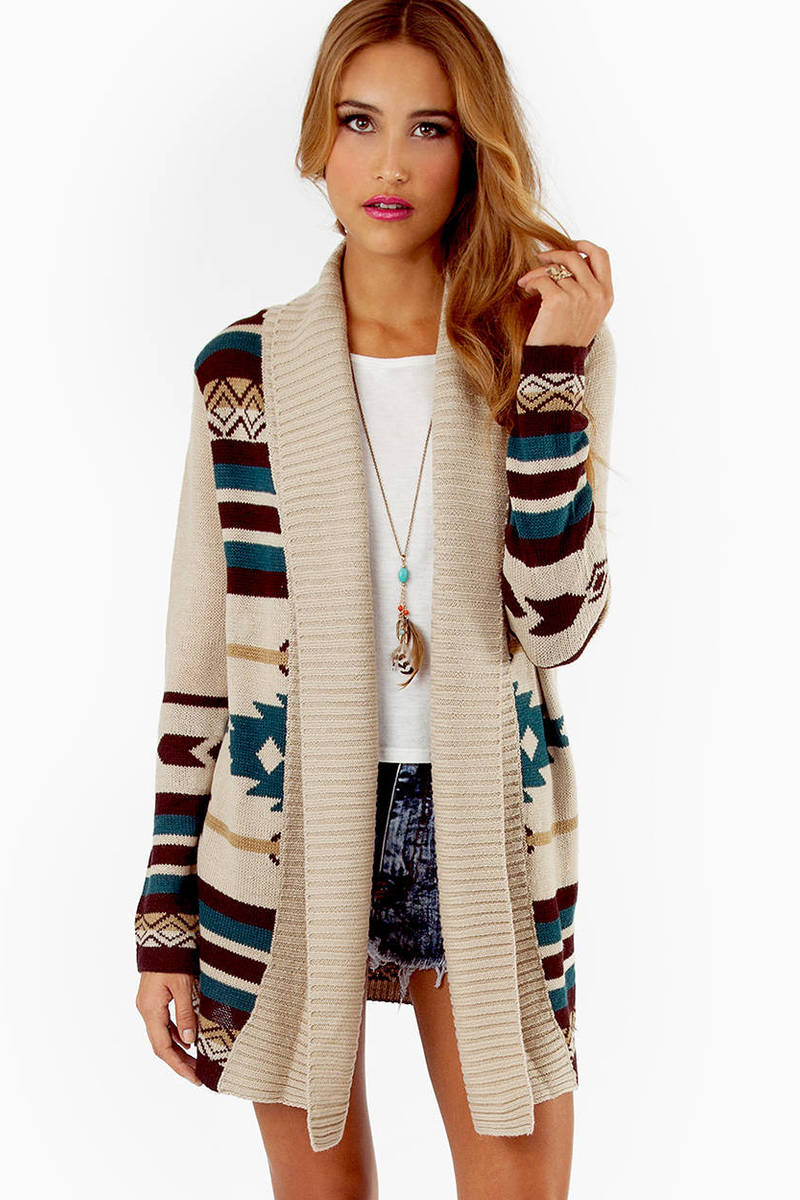 Trisha Tribal Cardigan