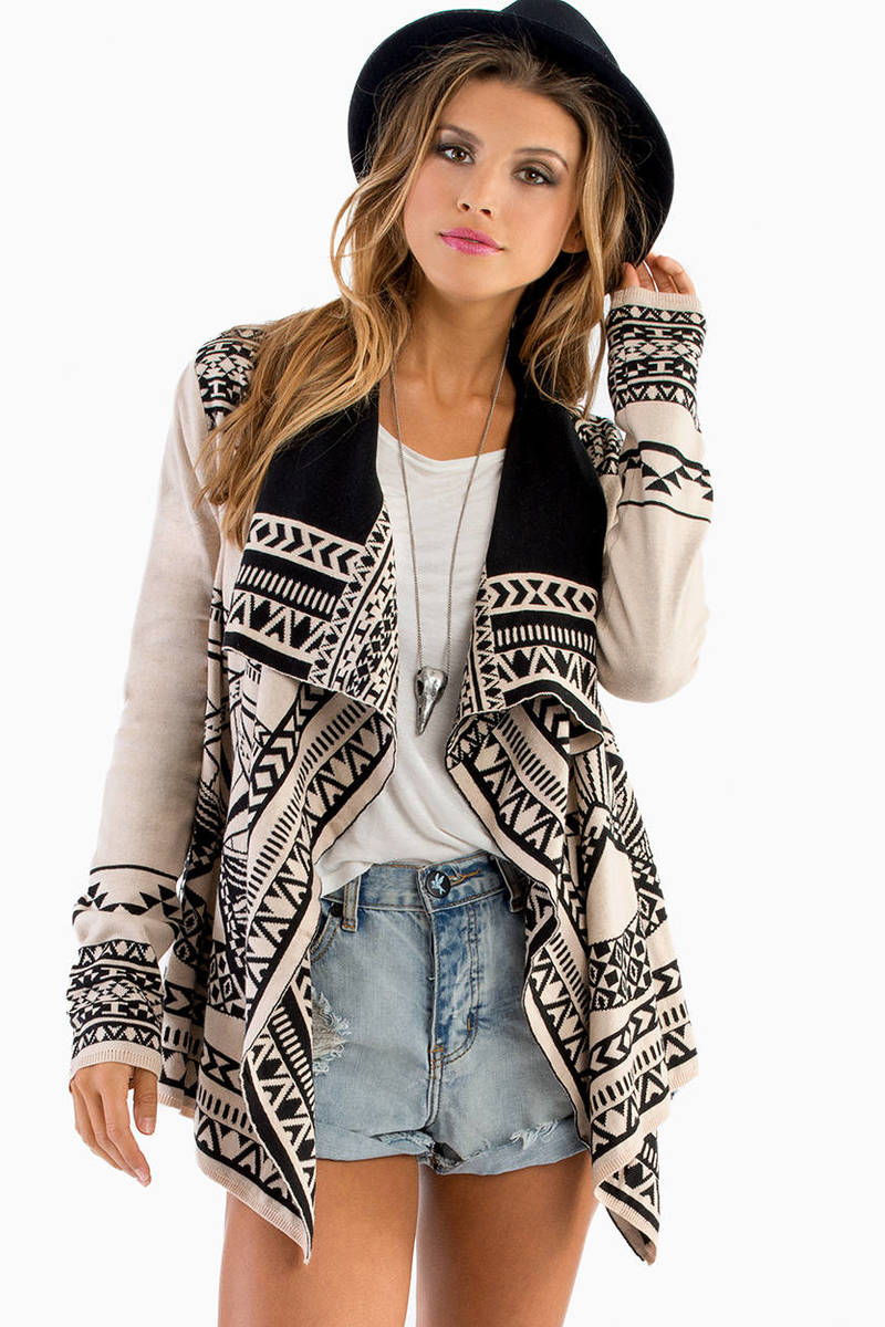 Native Lines Cardigan
