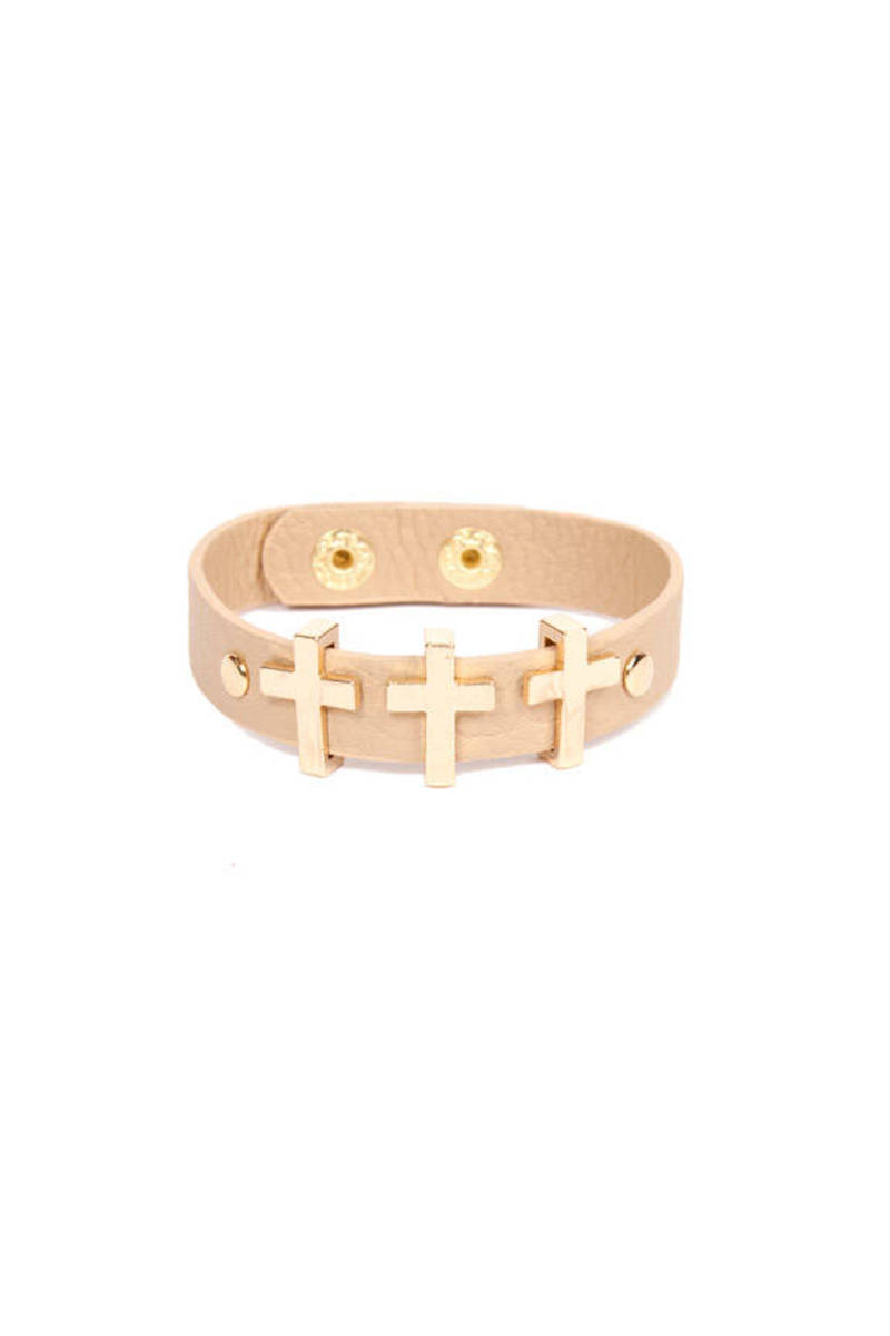 Triple Crossed Bracelet