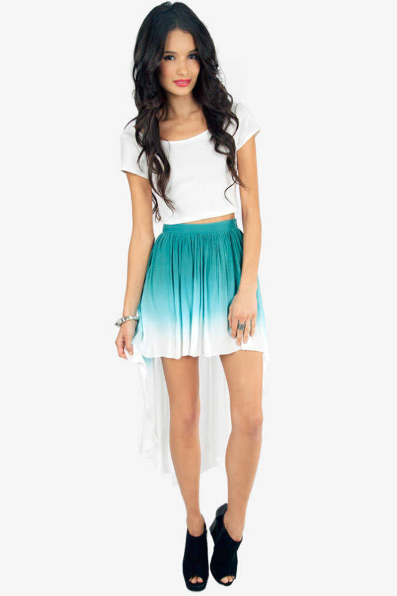 Ombre Low Skirt