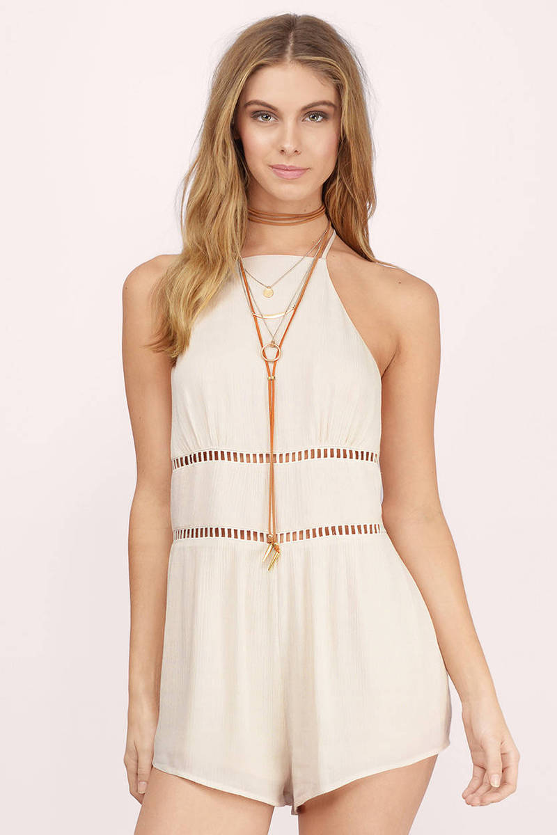 CELINE - Long Sleeveless Halter Flared Sexy Pants Suit Jumpsuit Romper. If you are looking for an outfit that is dressy yet casual, then you must option for this jumpsuit or romper.