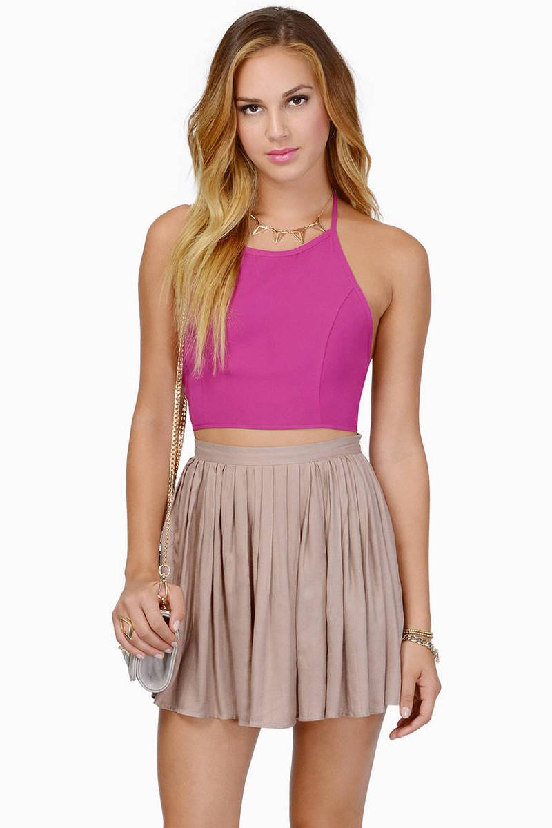 Chilton Pleated Skirt
