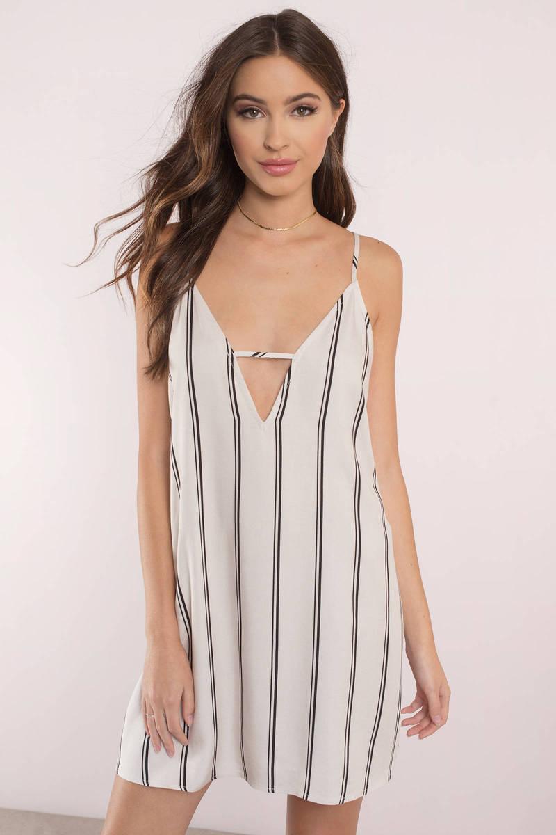 Stripe Place Stripe Time Shift Dress