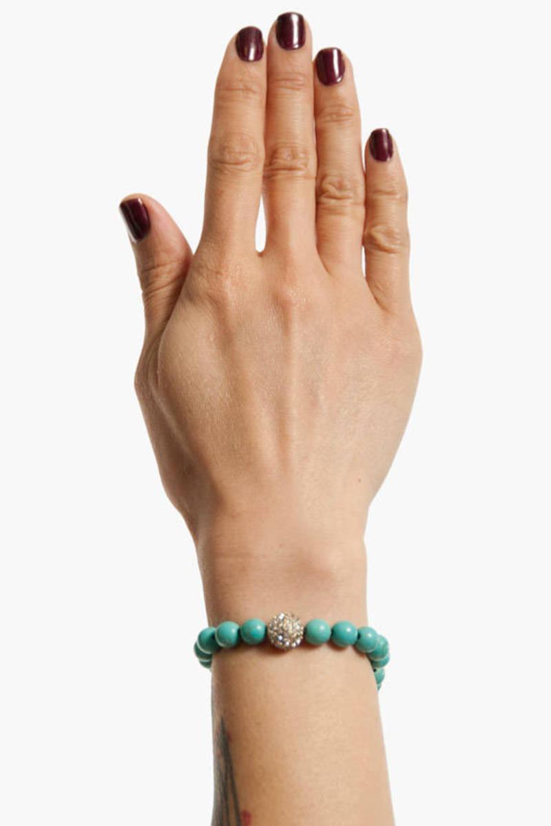 Around The Globe Beaded Bracelet
