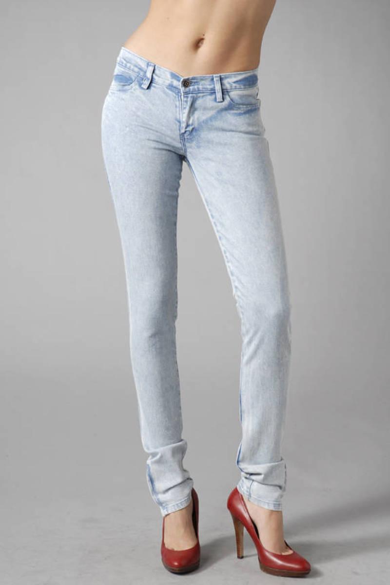 d8ca59a613 Blue Ksubi Jeans - Zip Up Jeans - Blue Light Wash Jeans -  120
