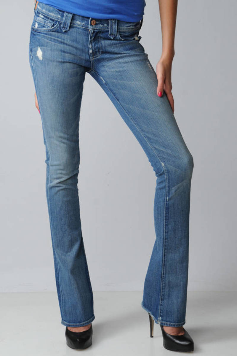 67b924da 7 For All Mankind Rocker Bootcut Jeans in Vintage Honolulu in Vintage  Honolulu