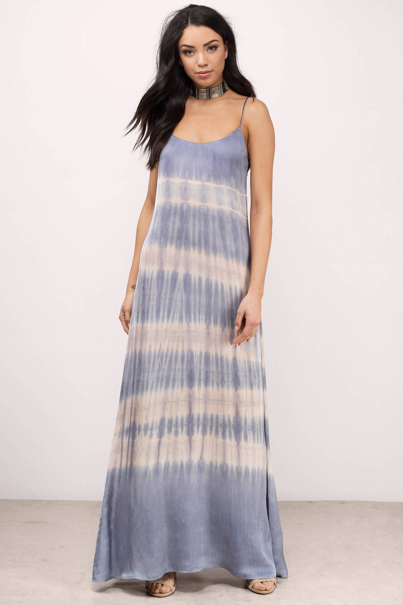 Blue Life Blue Life Kate Violet Cosmo Maxi Dress