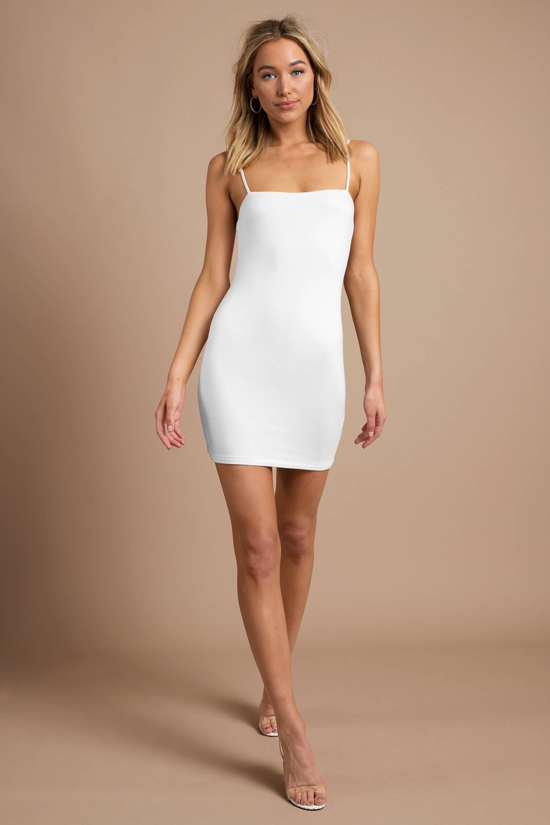 mini white dress