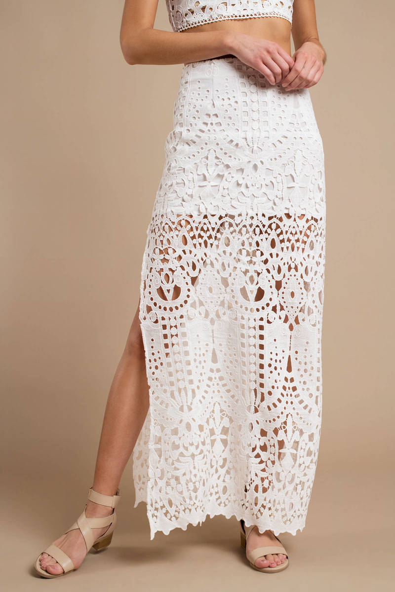 Skirt Maxi Lace Dress