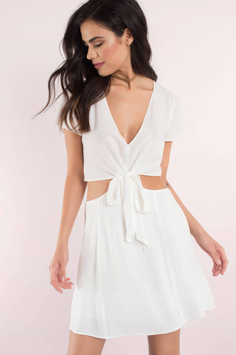 And Sexy white cut out dresses thank for