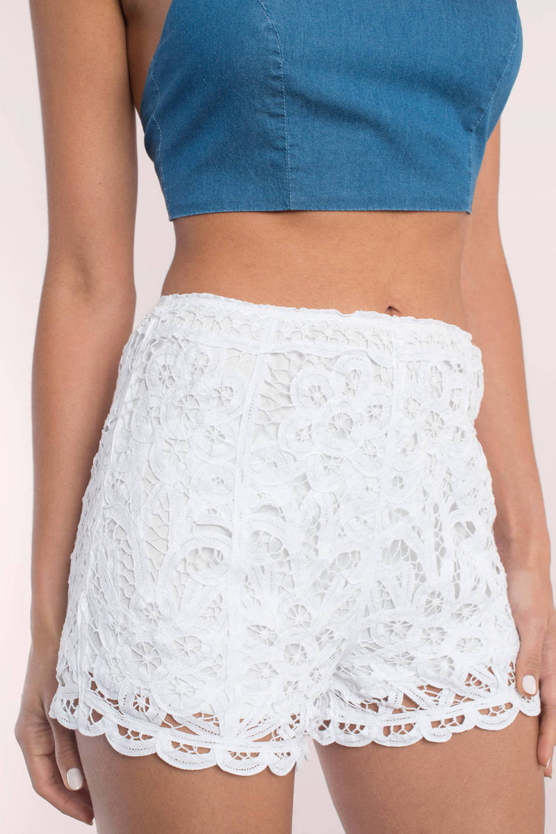 Shop for white lace shorts online at Target. Free shipping on purchases over $35 and save 5% every day with your Target REDcard.