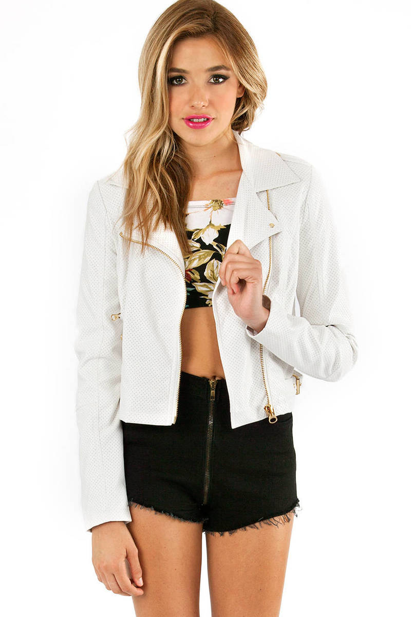 Bad Girl Biker Jacket