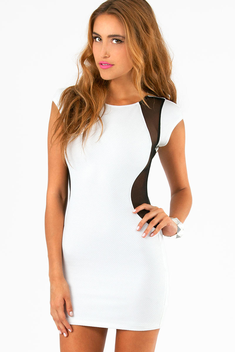 Be My Lava Bodycon Dress
