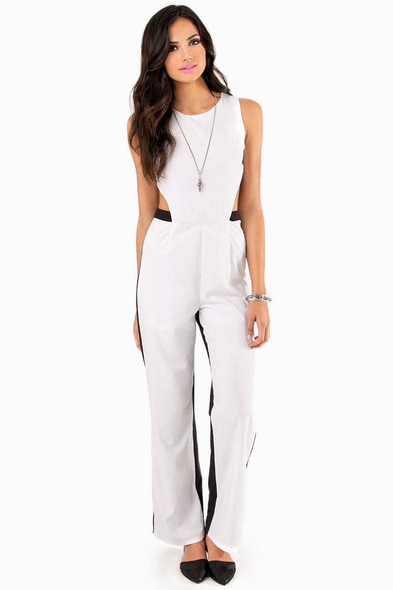 Bringing Open Back Jumpsuit