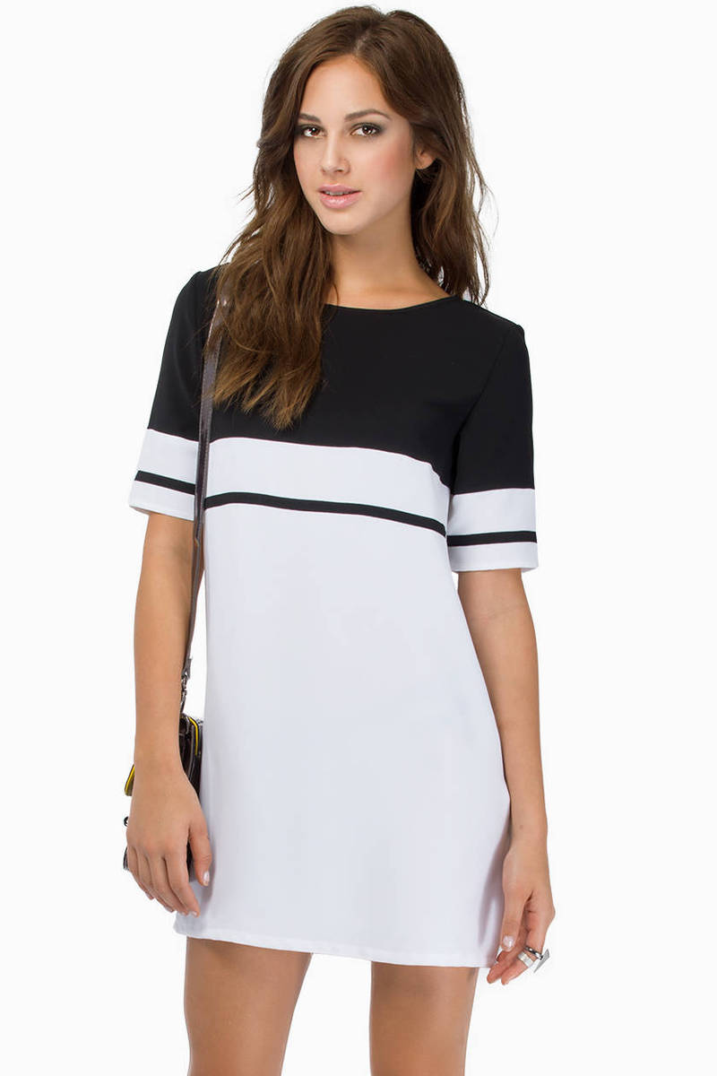My Stripe Shift Dress