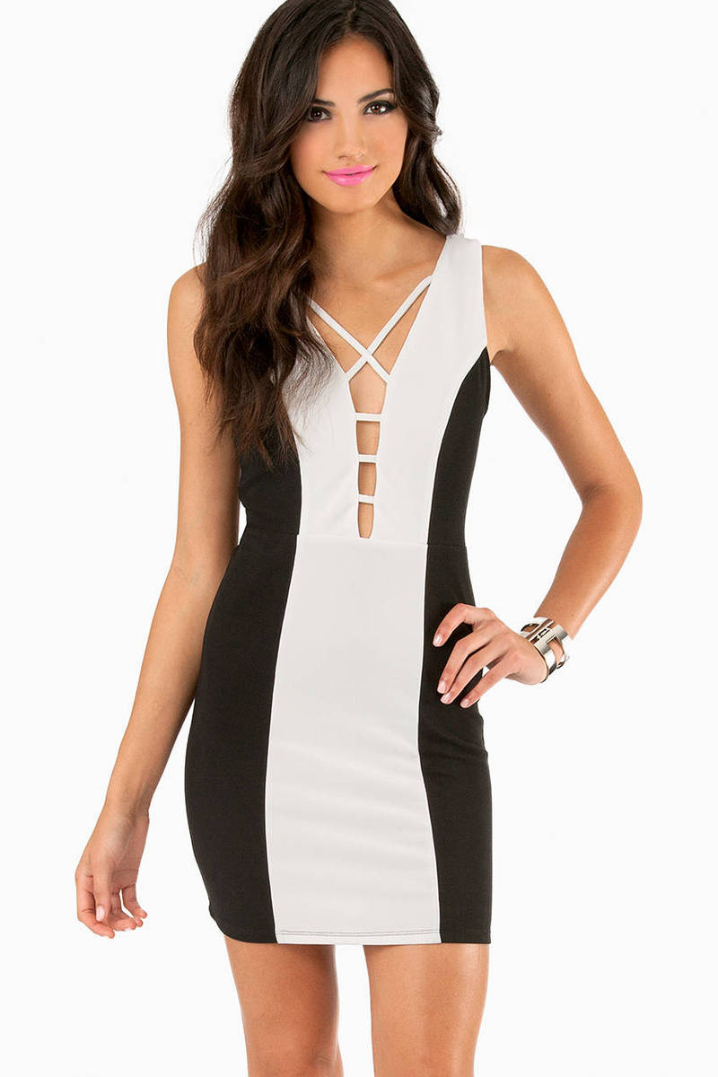 On The Keys Bodycon Dress