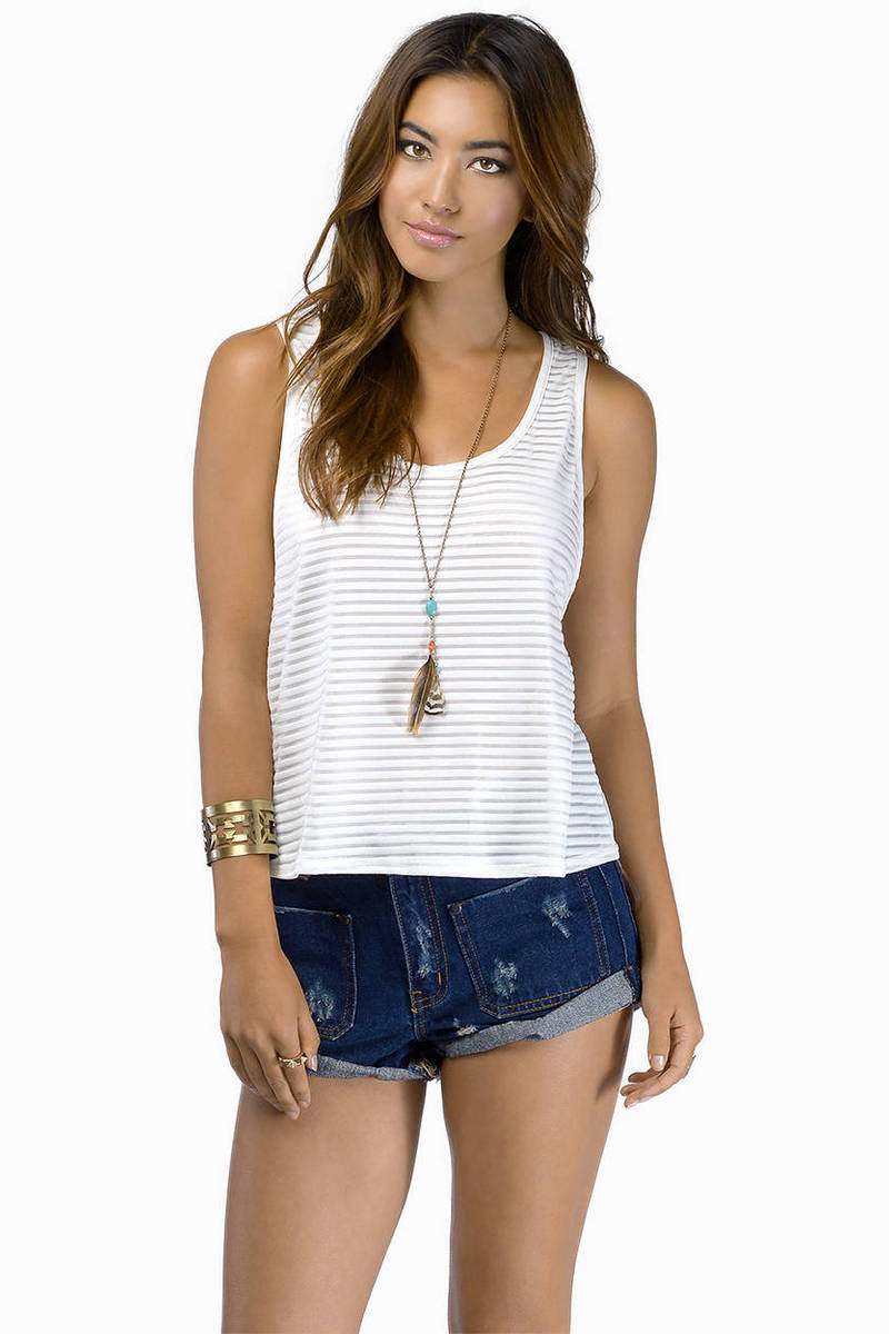 Blurred Lines Tank Top