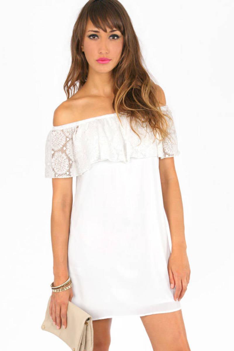 Carmelita Off Shoulder Dress