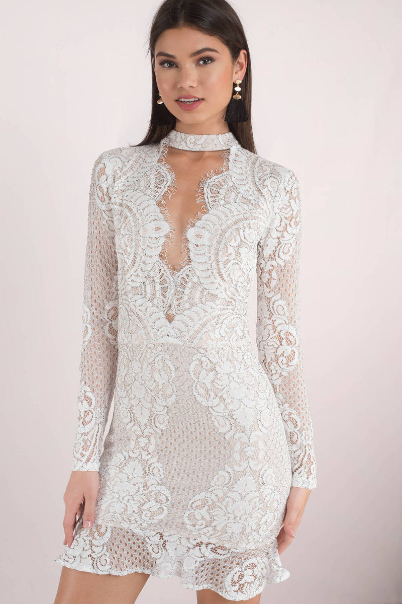 Choker Lace Dress