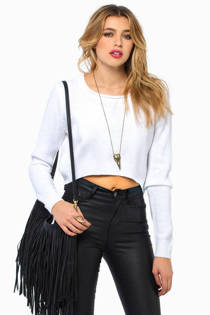Elmsford Cropped Sweater