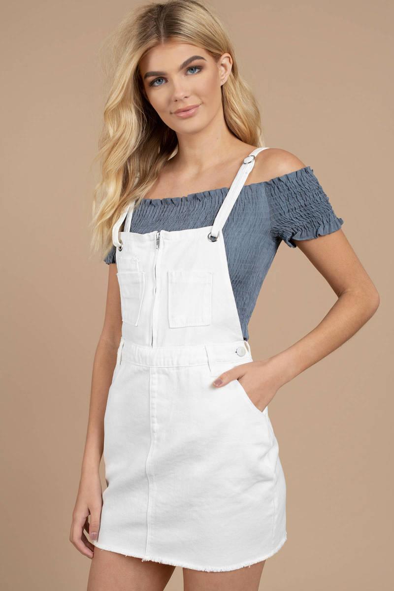 8585aaf2af2 White Denim Dress - The Best Style Dress In 2018
