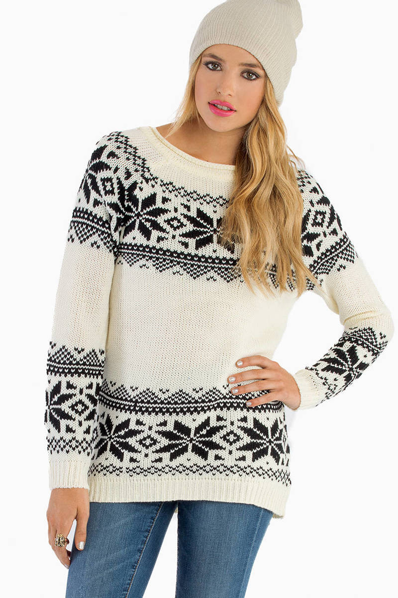 Franchesca Knit Sweater